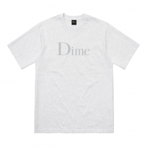 <img class='new_mark_img1' src='https://img.shop-pro.jp/img/new/icons5.gif' style='border:none;display:inline;margin:0px;padding:0px;width:auto;' />DIME CLASSIC T-SHIRT / ASH (ダイム Tシャツ / 半袖)