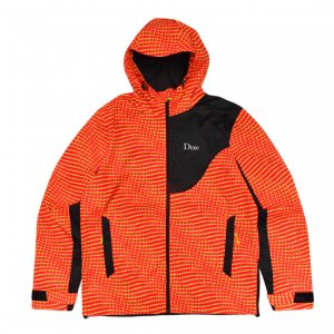 <img class='new_mark_img1' src='https://img.shop-pro.jp/img/new/icons5.gif' style='border:none;display:inline;margin:0px;padding:0px;width:auto;' />DIME WARP SHELL WINDBREAKER / RED (ダイム ナイロンジャケット / パネルパーカ)