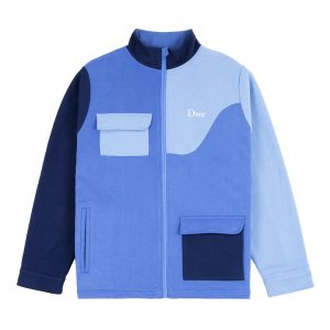 <img class='new_mark_img1' src='https://img.shop-pro.jp/img/new/icons5.gif' style='border:none;display:inline;margin:0px;padding:0px;width:auto;' />DIME BRUSHED COTTON TRACK JACKET / BLUE (ダイム トラックジャケット / スウェット)