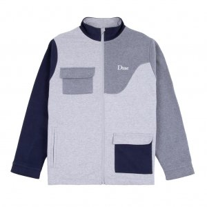 <img class='new_mark_img1' src='https://img.shop-pro.jp/img/new/icons5.gif' style='border:none;display:inline;margin:0px;padding:0px;width:auto;' />DIME BRUSHED COTTON TRACK JACKET / HEATHER (ダイム トラックジャケット / スウェット)