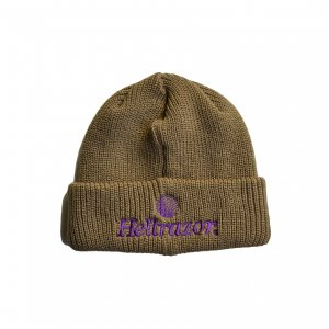 <img class='new_mark_img1' src='https://img.shop-pro.jp/img/new/icons5.gif' style='border:none;display:inline;margin:0px;padding:0px;width:auto;' />HELLRAZOR TRADEMARK CUFF KNIT CAP / COPPER (ヘルレイザー ニットキャップ/ビーニー)