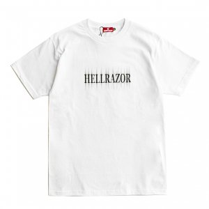 <img class='new_mark_img1' src='https://img.shop-pro.jp/img/new/icons5.gif' style='border:none;display:inline;margin:0px;padding:0px;width:auto;' />HELLRAZOR CENOBITE SHIRT / WHITE (ヘルレイザー Tシャツ)