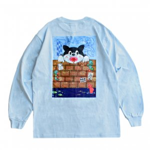 <img class='new_mark_img1' src='https://img.shop-pro.jp/img/new/icons5.gif' style='border:none;display:inline;margin:0px;padding:0px;width:auto;' />SAYHELLO FANTASY L/S TEE / POWDER BLUE (セイハロー  ロングスリーブTシャツ/ロンT)