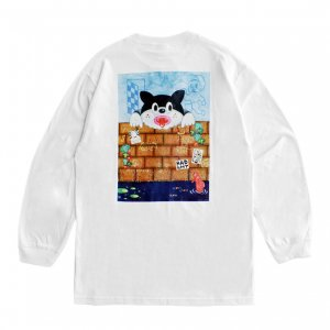 <img class='new_mark_img1' src='https://img.shop-pro.jp/img/new/icons5.gif' style='border:none;display:inline;margin:0px;padding:0px;width:auto;' />SAYHELLO FANTASY L/S TEE / WHITE (セイハロー  ロングスリーブTシャツ/ロンT)