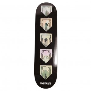 <img class='new_mark_img1' src='https://img.shop-pro.jp/img/new/icons5.gif' style='border:none;display:inline;margin:0px;padding:0px;width:auto;' />THEORIES PAPER PLANE SKATEBOARD Deck / 8.0