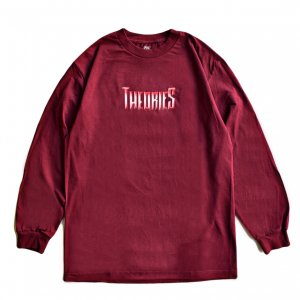 <img class='new_mark_img1' src='https://img.shop-pro.jp/img/new/icons5.gif' style='border:none;display:inline;margin:0px;padding:0px;width:auto;' />THEORIES REVEALED  L/S TEE / MAROON(セオリーズ ロングスリーブTシャツ/長袖)