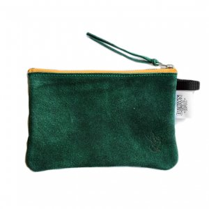 <img class='new_mark_img1' src='https://img.shop-pro.jp/img/new/icons5.gif' style='border:none;display:inline;margin:0px;padding:0px;width:auto;' />BROWNBAG Leather pouch / GREEN × ORANGE (ブラウンバッグ レザーポーチ)
