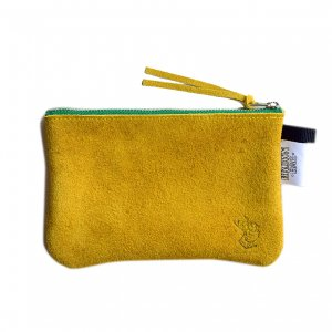 <img class='new_mark_img1' src='https://img.shop-pro.jp/img/new/icons5.gif' style='border:none;display:inline;margin:0px;padding:0px;width:auto;' />BROWNBAG Leather pouch / MUSTARD × GREEN (ブラウンバッグ レザーポーチ)
