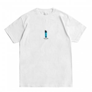 <img class='new_mark_img1' src='https://img.shop-pro.jp/img/new/icons5.gif' style='border:none;display:inline;margin:0px;padding:0px;width:auto;' />HOTEL BLUE LIGHTER TEE / WHITE (ホテルブルー Tシャツ/半袖)