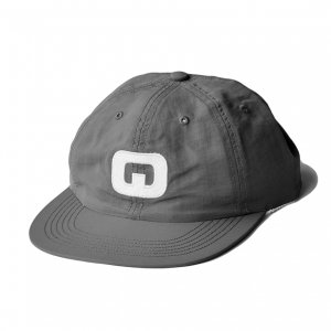 <img class='new_mark_img1' src='https://img.shop-pro.jp/img/new/icons5.gif' style='border:none;display:inline;margin:0px;padding:0px;width:auto;' />QUASI LETTERMAN 6P CAP / GREY (クアジ キャップ/帽子)