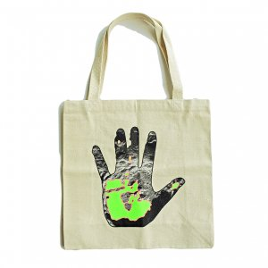 <img class='new_mark_img1' src='https://img.shop-pro.jp/img/new/icons5.gif' style='border:none;display:inline;margin:0px;padding:0px;width:auto;' />QUASI HOTHAND TOTE BAG / NATURAL (クアジ ビーニーキャップ/帽子)