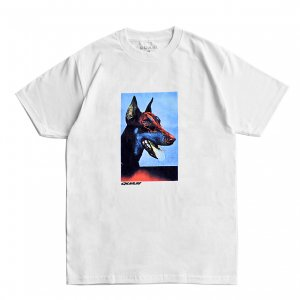 <img class='new_mark_img1' src='https://img.shop-pro.jp/img/new/icons5.gif' style='border:none;display:inline;margin:0px;padding:0px;width:auto;' />QUASI PLUTO TEE / WHITE (クアジ Tシャツ/半袖)