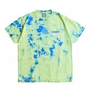 <img class='new_mark_img1' src='https://img.shop-pro.jp/img/new/icons5.gif' style='border:none;display:inline;margin:0px;padding:0px;width:auto;' />SAYHELLO OLD STYLE TIE-DYE TEE / LIME (セイハロー  Tシャツ)