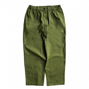 <img class='new_mark_img1' src='https://img.shop-pro.jp/img/new/icons5.gif' style='border:none;display:inline;margin:0px;padding:0px;width:auto;' />THEORIES STAMP LOUNGE PANT / OLIVE(セオリーズ イージーパンツ)