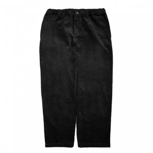 <img class='new_mark_img1' src='https://img.shop-pro.jp/img/new/icons5.gif' style='border:none;display:inline;margin:0px;padding:0px;width:auto;' />THEORIES STAMP LOUNGE CORD PANT / BLACK(セオリーズ イージーパンツ)