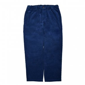 <img class='new_mark_img1' src='https://img.shop-pro.jp/img/new/icons5.gif' style='border:none;display:inline;margin:0px;padding:0px;width:auto;' />THEORIES STAMP LOUNGE CORD PANT / NAVY(セオリーズ イージーパンツ)