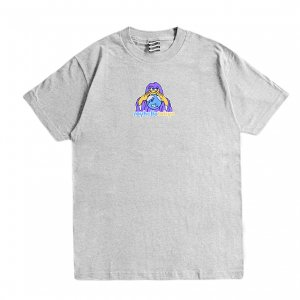 <img class='new_mark_img1' src='https://img.shop-pro.jp/img/new/icons1.gif' style='border:none;display:inline;margin:0px;padding:0px;width:auto;' />SAYHELLO HELLO HOUSE TEE / HEATHER GREY (セイハロー / Tシャツ)