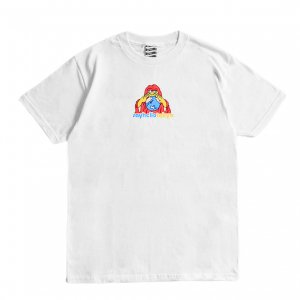 <img class='new_mark_img1' src='https://img.shop-pro.jp/img/new/icons1.gif' style='border:none;display:inline;margin:0px;padding:0px;width:auto;' />SAYHELLO HELLO HOUSE TEE / WHITE (セイハロー / Tシャツ)