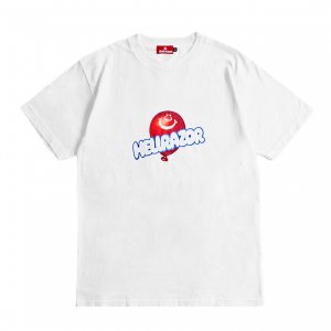 <img class='new_mark_img1' src='https://img.shop-pro.jp/img/new/icons5.gif' style='border:none;display:inline;margin:0px;padding:0px;width:auto;' />HELLRAZOR BALLOON SHIRT / WHITE (ヘルレイザー Tシャツ)