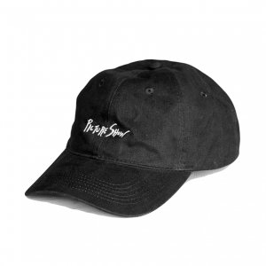 <img class='new_mark_img1' src='https://img.shop-pro.jp/img/new/icons5.gif' style='border:none;display:inline;margin:0px;padding:0px;width:auto;' />PICTURE SHOW SCRIPT DAD HAT / BLACK (ピクチャーショー キャップ)