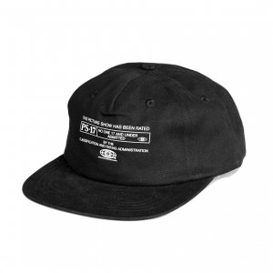 <img class='new_mark_img1' src='https://img.shop-pro.jp/img/new/icons5.gif' style='border:none;display:inline;margin:0px;padding:0px;width:auto;' />PICTURE SHOW PS-17 STRAP BACK CAP / BLACK (ピクチャーショー キャップ)