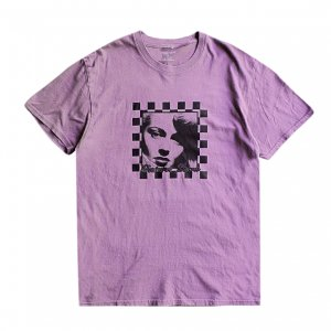 <img class='new_mark_img1' src='https://img.shop-pro.jp/img/new/icons5.gif' style='border:none;display:inline;margin:0px;padding:0px;width:auto;' />PICTURE SHOW HOMECOMING GARMENT DYE TEE / PLUM (ピクチャーショー Tシャツ)