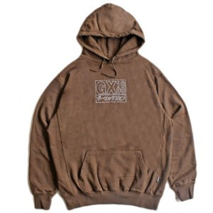 <img class='new_mark_img1' src='https://img.shop-pro.jp/img/new/icons5.gif' style='border:none;display:inline;margin:0px;padding:0px;width:auto;' />GX1000 JAPAN HOODIE / BROWN (ジーエックスセン パーカー / スウェット)