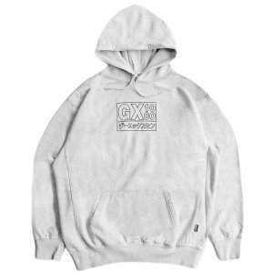 <img class='new_mark_img1' src='https://img.shop-pro.jp/img/new/icons5.gif' style='border:none;display:inline;margin:0px;padding:0px;width:auto;' />GX1000 JAPAN HOODIE / ASH (ジーエックスセン パーカー / スウェット)