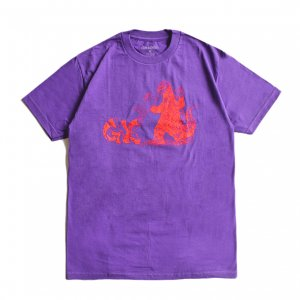 <img class='new_mark_img1' src='https://img.shop-pro.jp/img/new/icons5.gif' style='border:none;display:inline;margin:0px;padding:0px;width:auto;' />GX1000 FIRE DRAGON TEE / PURPLE (ジーエックスセン Tシャツ / 半袖)