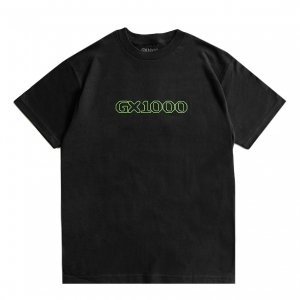 <img class='new_mark_img1' src='https://img.shop-pro.jp/img/new/icons5.gif' style='border:none;display:inline;margin:0px;padding:0px;width:auto;' />GX1000 OG LOGO TEE / BLACK (ジーエックスセン Tシャツ / 半袖)