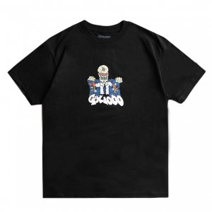 <img class='new_mark_img1' src='https://img.shop-pro.jp/img/new/icons5.gif' style='border:none;display:inline;margin:0px;padding:0px;width:auto;' />GX1000 WATCHMAN TEE / BLACK (ジーエックスセン Tシャツ / 半袖)