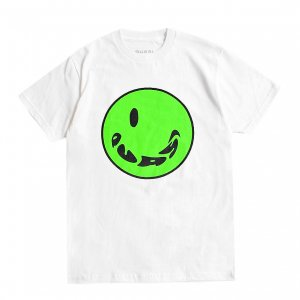 <img class='new_mark_img1' src='https://img.shop-pro.jp/img/new/icons5.gif' style='border:none;display:inline;margin:0px;padding:0px;width:auto;' />QUASI POWER TEE / WHITE (クアジ Tシャツ/半袖)