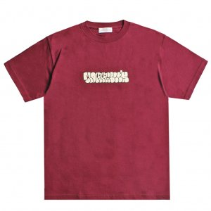 <img class='new_mark_img1' src='https://img.shop-pro.jp/img/new/icons5.gif' style='border:none;display:inline;margin:0px;padding:0px;width:auto;' />HORRIBLE'S PLUMP T-SHIRT / BURGUNDY (ホリブルズ Tシャツ)