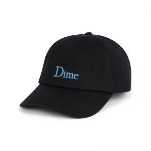 <img class='new_mark_img1' src='https://img.shop-pro.jp/img/new/icons5.gif' style='border:none;display:inline;margin:0px;padding:0px;width:auto;' />DIME CLASSIC CAP / BLACK (ダイム キャップ / 6パネルキャップ)