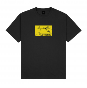 <img class='new_mark_img1' src='https://img.shop-pro.jp/img/new/icons5.gif' style='border:none;display:inline;margin:0px;padding:0px;width:auto;' />DIME VISION T-SHIRT / BLACK (ダイム Tシャツ / 半袖)