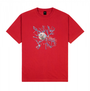 <img class='new_mark_img1' src='https://img.shop-pro.jp/img/new/icons5.gif' style='border:none;display:inline;margin:0px;padding:0px;width:auto;' />DIME CURVEBALL T-SHIRT / CHERRY (ダイム Tシャツ / 半袖)