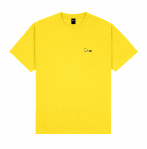 <img class='new_mark_img1' src='https://img.shop-pro.jp/img/new/icons5.gif' style='border:none;display:inline;margin:0px;padding:0px;width:auto;' />DIME CLASSIC SMALL LOGO T-SHIRT / YELLOW (ダイム Tシャツ / 半袖)