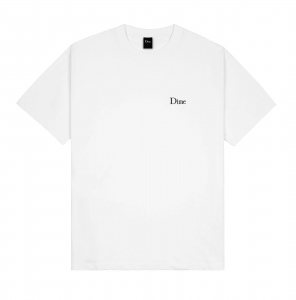 <img class='new_mark_img1' src='https://img.shop-pro.jp/img/new/icons5.gif' style='border:none;display:inline;margin:0px;padding:0px;width:auto;' />DIME CLASSIC SMALL LOGO T-SHIRT / WHITE (ダイム Tシャツ / 半袖)