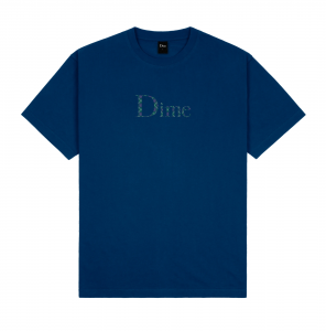 <img class='new_mark_img1' src='https://img.shop-pro.jp/img/new/icons5.gif' style='border:none;display:inline;margin:0px;padding:0px;width:auto;' />DIME CLASSIC PLAID T-SHIRT / NAVY (ダイム Tシャツ / 半袖)