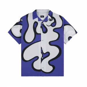 <img class='new_mark_img1' src='https://img.shop-pro.jp/img/new/icons5.gif' style='border:none;display:inline;margin:0px;padding:0px;width:auto;' />DIME CHILLING RAYON SHIRT / BLUE (ダイム 半袖シャツ / レーヨンシャツ)