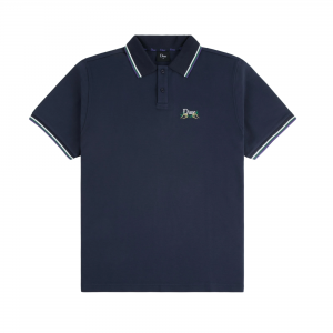 <img class='new_mark_img1' src='https://img.shop-pro.jp/img/new/icons5.gif' style='border:none;display:inline;margin:0px;padding:0px;width:auto;' />DIME GRASS POLO SHIRT / NAVY (ダイム ポロシャツ)