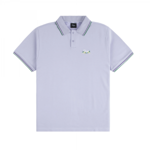 <img class='new_mark_img1' src='https://img.shop-pro.jp/img/new/icons5.gif' style='border:none;display:inline;margin:0px;padding:0px;width:auto;' />DIME GRASS POLO SHIRT / LAVENDER (ダイム ポロシャツ)