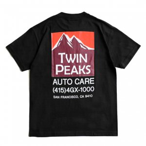 <img class='new_mark_img1' src='https://img.shop-pro.jp/img/new/icons5.gif' style='border:none;display:inline;margin:0px;padding:0px;width:auto;' />GX1000 TWIN PEAKS TEE / BLACK (ジーエックスセン Tシャツ / 半袖)