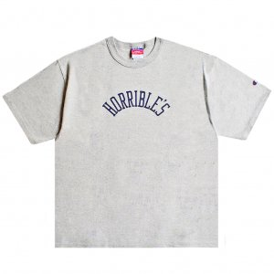 <img class='new_mark_img1' src='https://img.shop-pro.jp/img/new/icons5.gif' style='border:none;display:inline;margin:0px;padding:0px;width:auto;' />HORRIBLE'S HERITAGE T-SHIRT / HEATHER GREY (ホリブルズ Tシャツ)