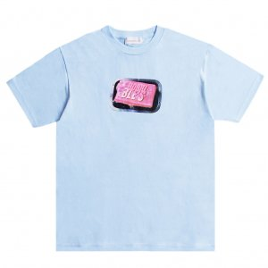 <img class='new_mark_img1' src='https://img.shop-pro.jp/img/new/icons5.gif' style='border:none;display:inline;margin:0px;padding:0px;width:auto;' />HORRIBLE'S SOAP T-SHIRT / POWDER BLUE (ホリブルズ Tシャツ)