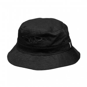 <img class='new_mark_img1' src='https://img.shop-pro.jp/img/new/icons5.gif' style='border:none;display:inline;margin:0px;padding:0px;width:auto;' />WKND FISHBONE BUCKET HAT / BLACK(ウィークエンド バケットハット/キャップ)