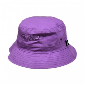 <img class='new_mark_img1' src='https://img.shop-pro.jp/img/new/icons5.gif' style='border:none;display:inline;margin:0px;padding:0px;width:auto;' />WKND FISHBONE BUCKET HAT / PURPLE(ウィークエンド バケットハット/キャップ)