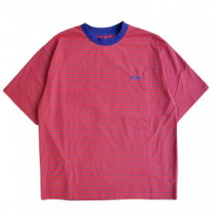 <img class='new_mark_img1' src='https://img.shop-pro.jp/img/new/icons5.gif' style='border:none;display:inline;margin:0px;padding:0px;width:auto;' />WKND STRIPE TEE / RED & NAVY (ウィークエンド Tシャツ)