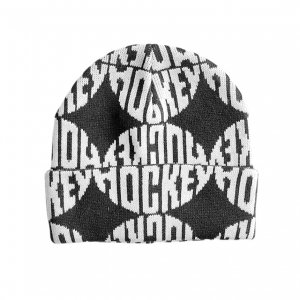 <img class='new_mark_img1' src='https://img.shop-pro.jp/img/new/icons5.gif' style='border:none;display:inline;margin:0px;padding:0px;width:auto;' />HOCKEY SEWER BEANIE / BLACK (ホッキー ビーニー/ニットキャップ)