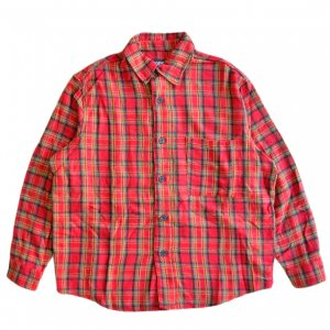 <img class='new_mark_img1' src='https://img.shop-pro.jp/img/new/icons5.gif' style='border:none;display:inline;margin:0px;padding:0px;width:auto;' />HOCKEY FLANNEL SHIRT / RED (ホッキー フランネルシャツ)